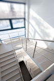Stairs in the modern building Stock Photos