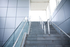 Stairs in a modern building Royalty Free Stock Images