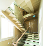 Stairs in modern home interior Stock Image