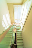 Stairs in modern home interior Stock Photos