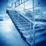 Stairs in the modern house Royalty Free Stock Photo