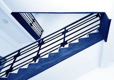 Stairs in the modern house Stock Image