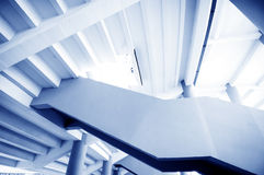 Stairs in the modern house Royalty Free Stock Image