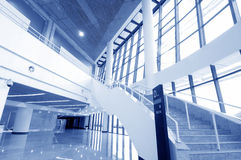 Stairs in the modern house Royalty Free Stock Images