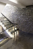 Stairs of a modernist hotel Stock Images