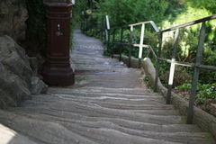 Stairs at Montmartre. Paris, France Stock Photography