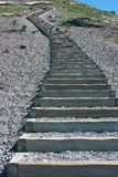 Stairs at Mt St Helens Stock Photo