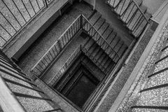 Stairs. In my home building Royalty Free Stock Image