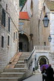 Stairs in Dubrovnik Croatia Royalty Free Stock Photo