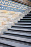 Stairs in Natural History Museum, London. Royalty Free Stock Photo