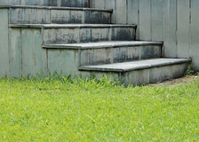 Stairs in nature royalty free stock photos