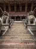 Stairs of NyatapolaTemple stock photos