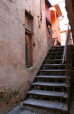 Stairs Of Old City Stock Photos