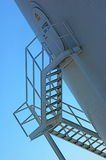 Stairs on Oil rig Stock Photography