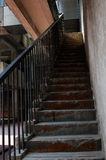 Stairs of old building Royalty Free Stock Photo