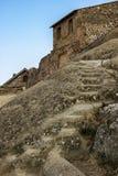 Stairs. Old stairs in David Gareja, Georgia, near the border with Azerbaijan Stock Photo