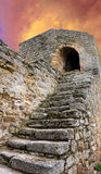 Stairs of old tower Stock Photography