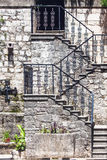 Stairs in the old town Stock Images
