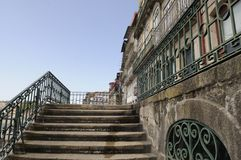 Stairs in Oporto. Stairs and buildings in Oporto, Portugal Stock Image