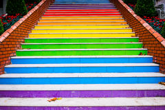 Stairs painted Stock Photos