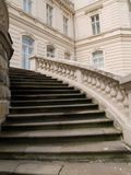 Stairs of the palace Royalty Free Stock Photos