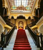 Stairs. Palace royal cathedral south America Stock Photos