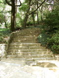Stairs in park Stock Image