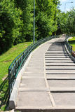 Stairs in the park Royalty Free Stock Photo