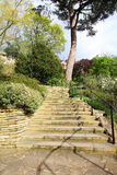 Stairs in the park, uk Stock Photos