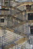 Stairs pattern in Sicily Stock Photography