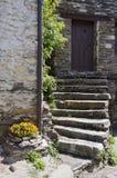 Stairs in Penalba de Santiago Royalty Free Stock Photo