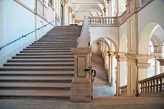 Stairs of Pinacoteca di Brera, Milan, horizontal Stock Photography