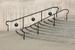 Stairs & Railing Royalty Free Stock Photos