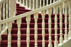Stairs Railing Royalty Free Stock Photos