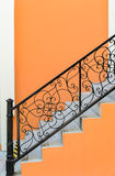 Stairs and railing Stock Image