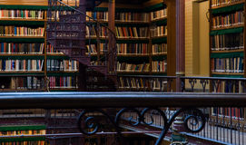 Stairs in research library of Rijksmuseum Stock Photo