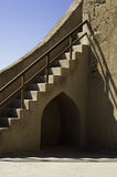 Stairs of Restored Fort Stock Images