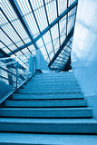 Stairs and roof Stock Photo