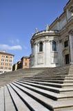 Stairs at Santa Maria Maggiore Stock Image