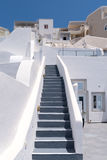 Stairs in Santorini Stock Photos