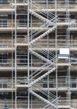Stairs on scaffolding Royalty Free Stock Photography