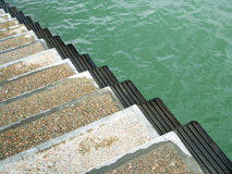 Stairs into the sea Royalty Free Stock Photography