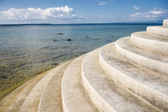 Stairs and sea Stock Photos