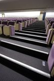 Stairs and seats in the auditorium Stock Photos