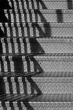 Stairs with shadows Stock Images