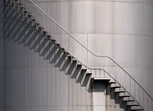 Stairs' Shadows Royalty Free Stock Photography