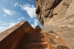 Stairs at Sigiriya Stock Image