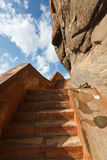 Stairs at Sigiriya Royalty Free Stock Photography