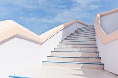 Stairs into sky Royalty Free Stock Photo