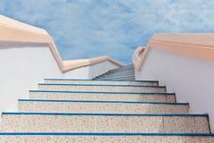 Stairs into sky Royalty Free Stock Photos
